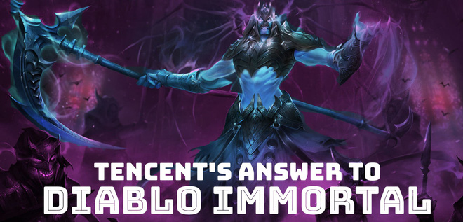 Tencent launched the game to compete in a proactive manner with Diablo Immortal - Photo 1.