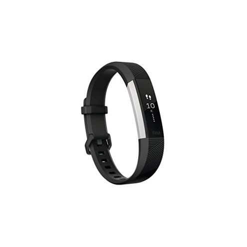 fitbit alta on a white background