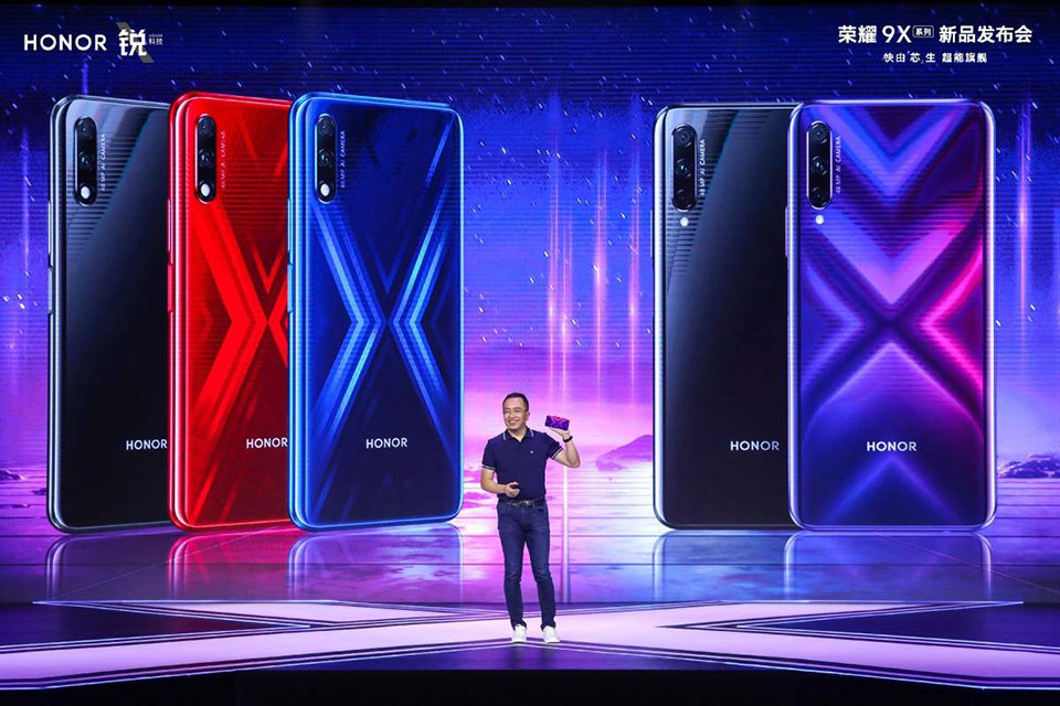 Honor-9X-ra-mat-1 Honor 9X and Honor 9X Pro Official: Kirin 810, camera selfie pop-up, priced at only VND 4.7 million