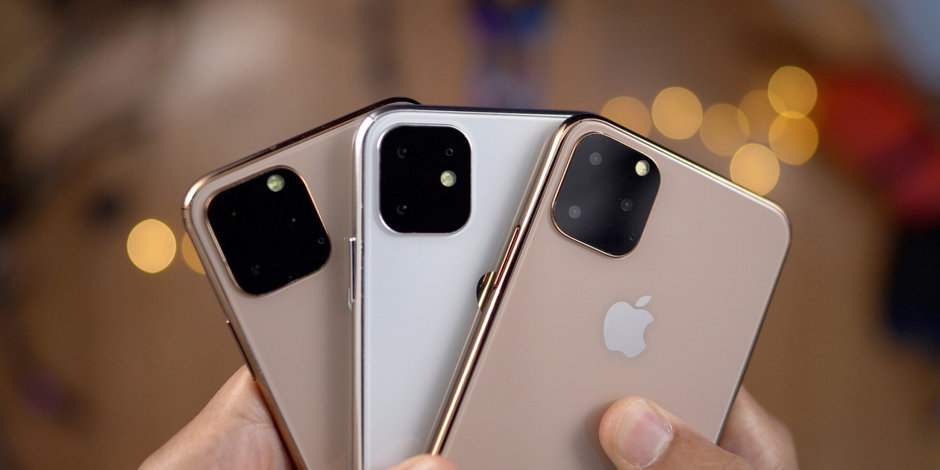 Dummy models of all three 2019 Apple iPhones obtained by 9to5Mac