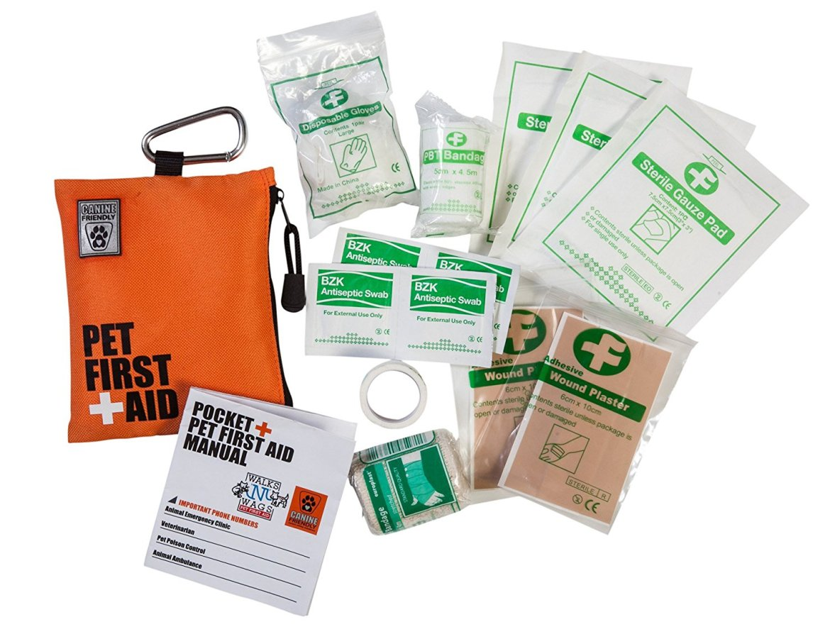 dog first aid kit canine friendly pocket pet