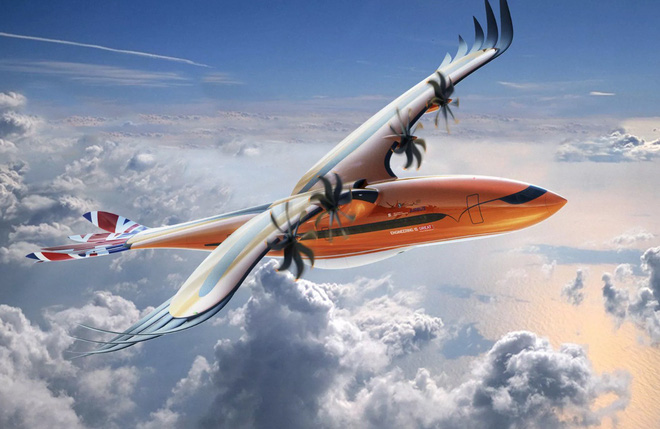 This is Airbus Mythology, the design that the company thinks is the future of aviation - Photo 1.