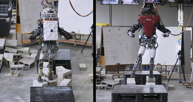 [Video]  Close up of advanced technologies that help robots move steadily on rough terrain - Photo 1.