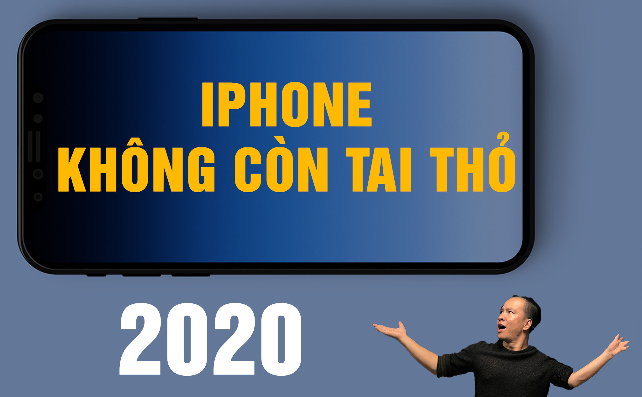[Video] iPhone 2020 no rabbit ears, what do you think?