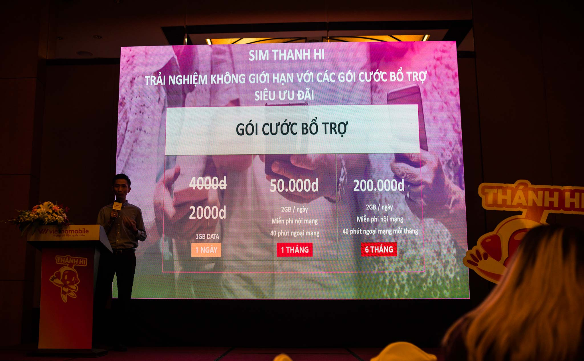Vietnamobile launches SIM STONE HI - 20k / month with unlimited data, VoWIFI calls with wifi