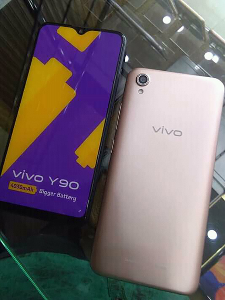 Sforum - Vivo Y90's latest Vivo-Y90-live-shots-1 technology information page shows the actual photo for the first time, confirming many important details about the design