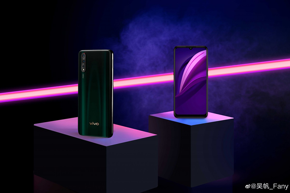 Sforum - Vivo Z5's latest technology news page, anh-bao-chi-Vivo-Z5-1, exposes the press image clearly before the official launch date