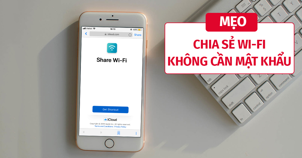 Sforum - Latest technology information page 191-8 Wi-Fi sharing tips without revealing passwords on iPhone / iPad
