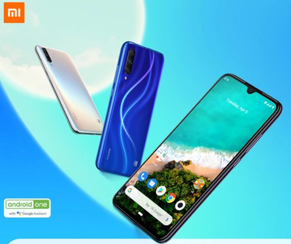Sforum - The latest technology information page Xiaomi-Mi-A3-ra-mat-1 Xiaomi Mi A3 launches: 665 Snapdragon, 3 48MP rear cameras, 4,030 mAh battery, only from 6.5 million