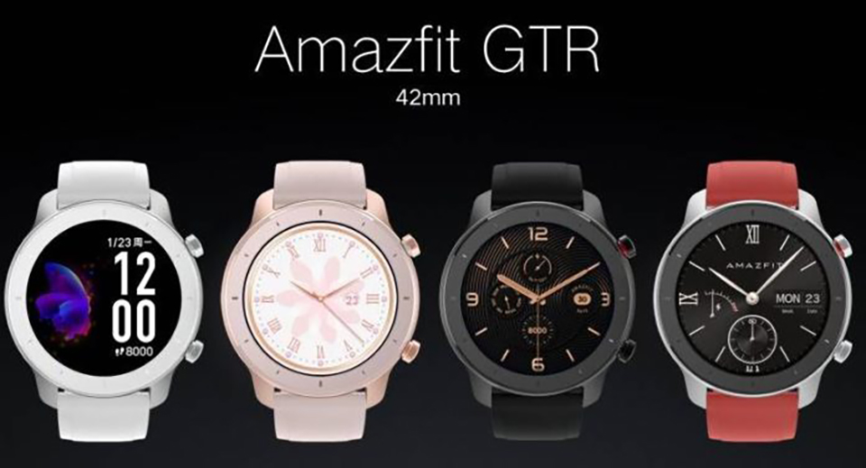 Sforum - Latest technology information page AMAZFIT-GTR-1 Xiaomi launched smartwatch Amazfit GTR: Fashion design, battery up to 74 days, price from 2.7 million