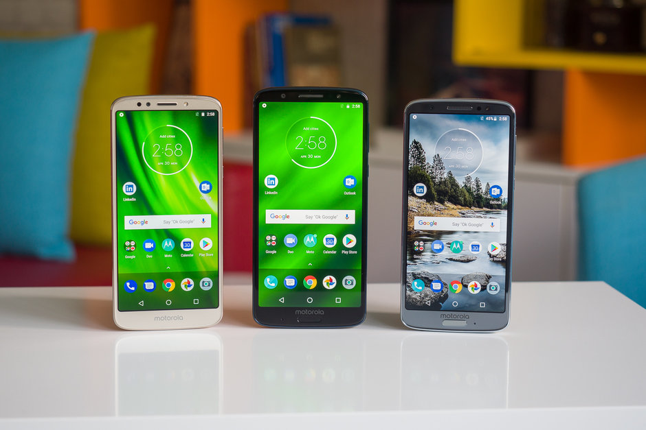 Motorola phones performed surprisingly well