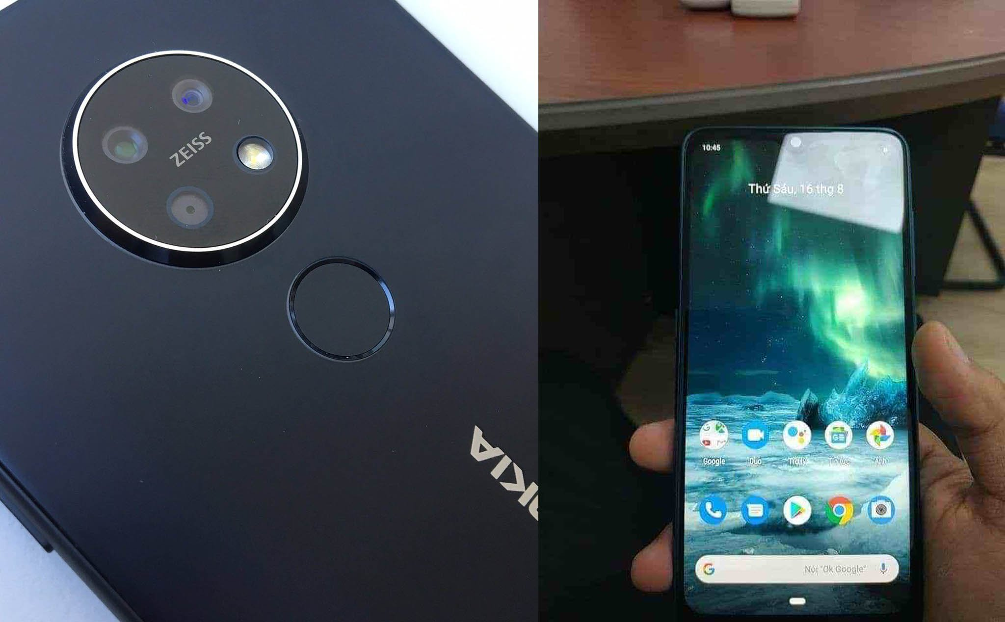 A Zeiss director revealed Nokia 7.2 images