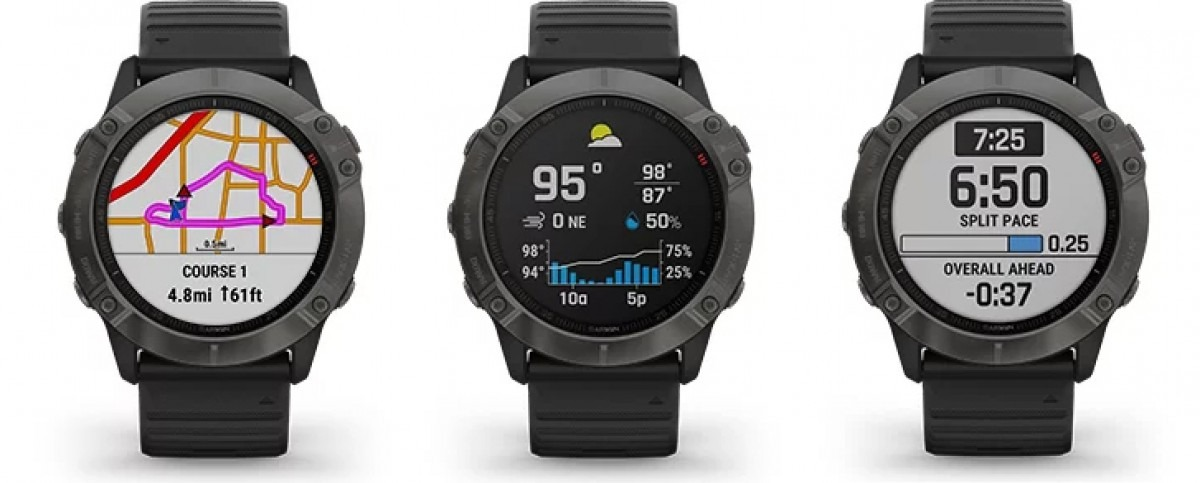 Sforum - Latest technology information page gsmarena_001-5 Garmin launches Fenix 6X Pro Solar: The first smartwatch to use solar energy