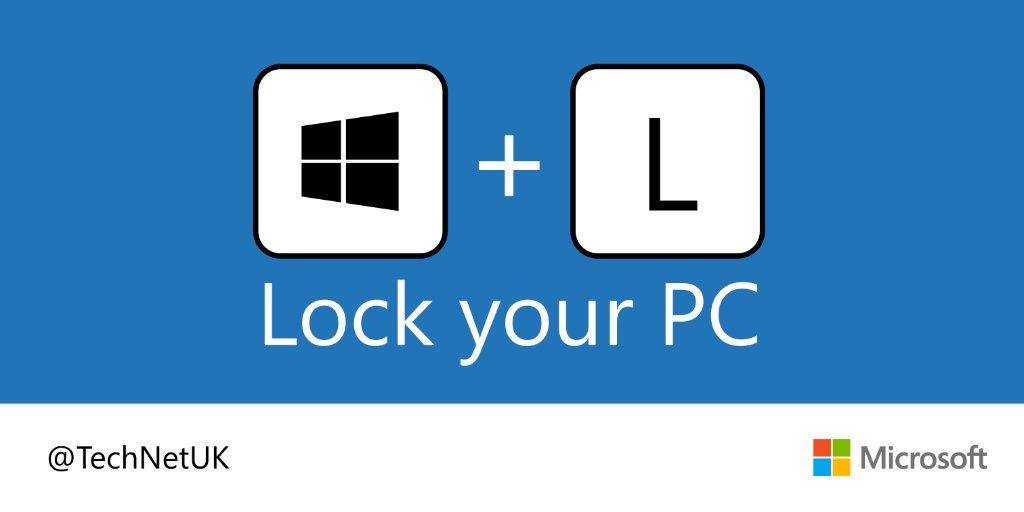 Simply press the Windows key + L and you're done