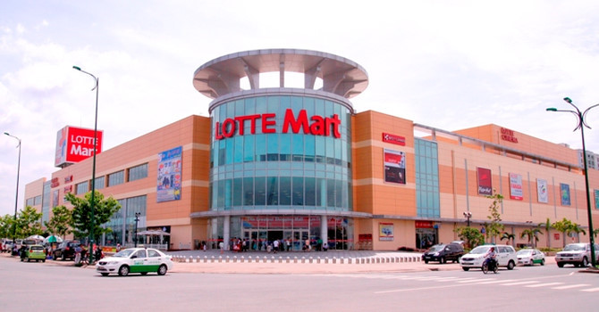 Lotte Mart supermarket in Vietnam experimented with electronic price tag application ESL Opticon - VnReview