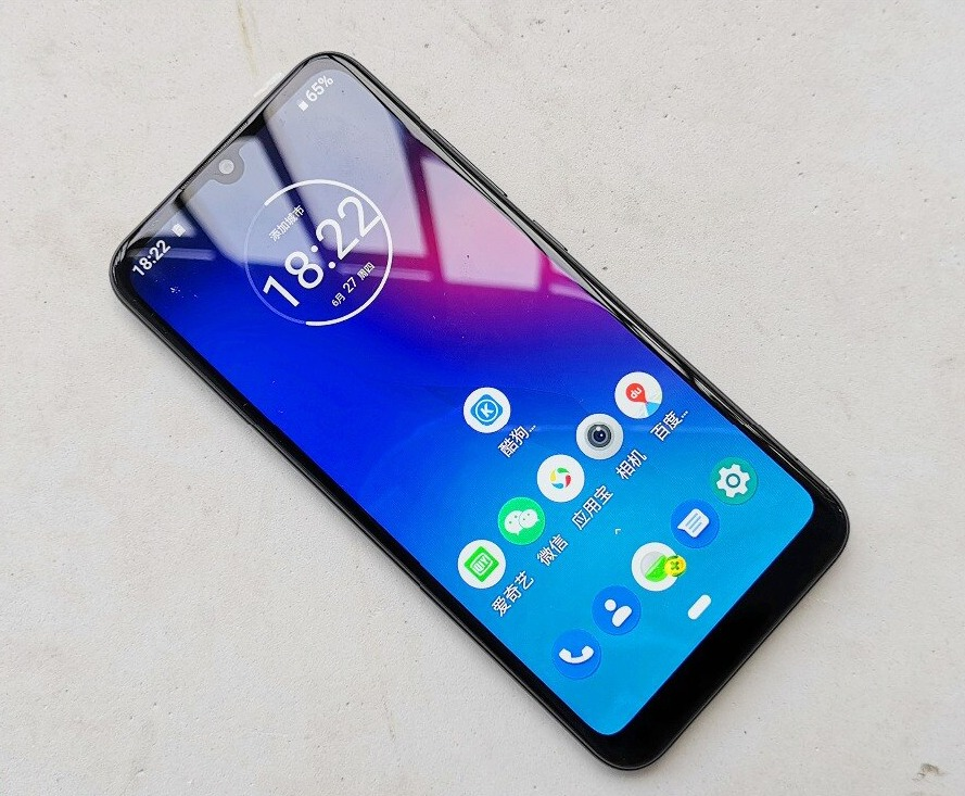 Sforum - Latest technology information page Moto-E6-Plus-live-photo-a Moto E6 Plus reveals real photos with water drop screen, dual camera on the back