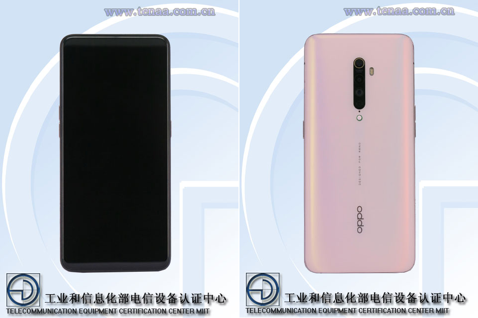 Sforum - Latest technology information page reno-2-tenaa OPPO Reno 2 render images with thicker screen edges than the first, released on August 28