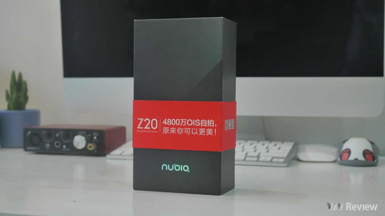 """Open the box, fast on hand Nubia Z20: Two-screen smartphone with """"weird"""", configuration """"dinosaur"""" - VnReview"""