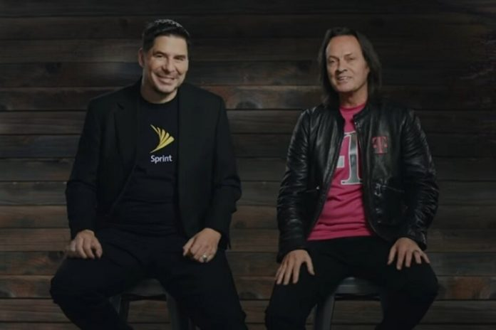Sprint Chairman Marcelo Claure and T-Mobile CEO John Legere can