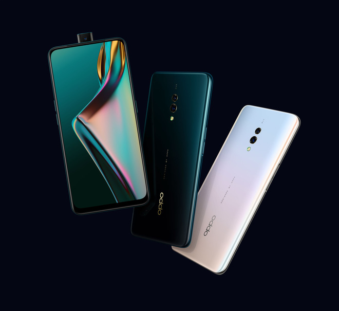 Xiaomi and Huawei, Oppo launched K3 in Vietnam with Snapdragon 710 chip, camera with indentation, fingerprint under the screen, cost 6.99 million - Photo 1.
