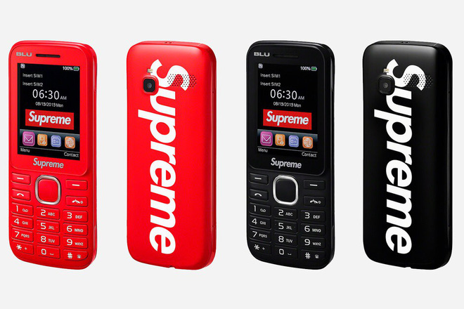 Supreme launched a brick phone, 2.4-inch screen, a price equivalent to a flagship smartphone - Photo 1.