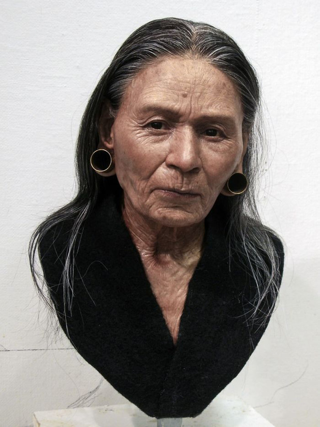 The archaeologist and sculptor successfully restored the face of a person who lived thousands of years ago, someone who resembled the Daughter in the Kitchen God - Photo 1.