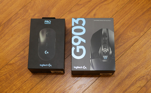 Mouse gaming super-level pitted Logitech G Pro Wireless vs G903: Which cat bite any bite? - Photo 1.