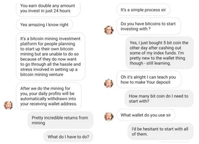 Hi: go to scam bitcoin, be tricked by experts - Photo 1.