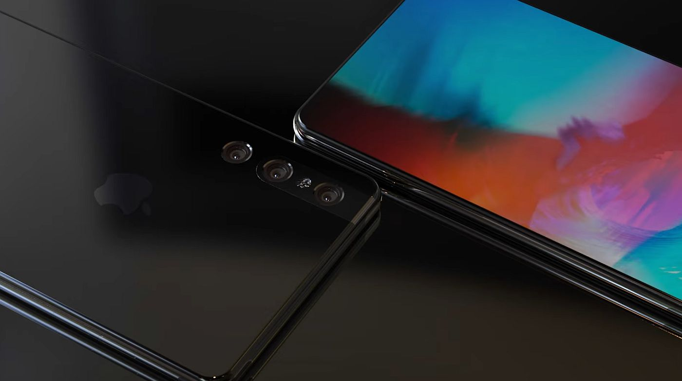 """Sforum - Latest technology information page Future-iPhone-concept-2019-concept-creator-5 """"Painful"""" with iPhone 12 concept, when Galaxy Note 10 runs on iOS"""