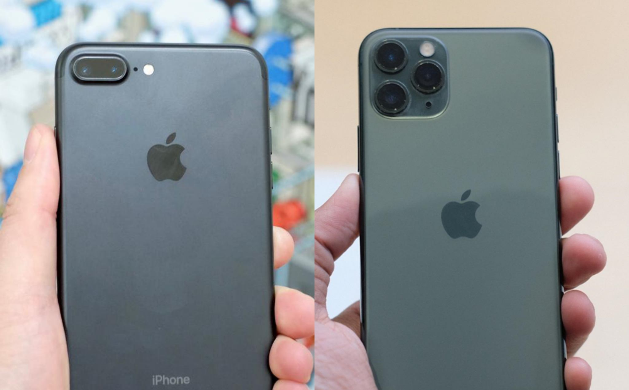 Are using iPhone 7 plus, want to upgrade to 11 Pro Max 256GB