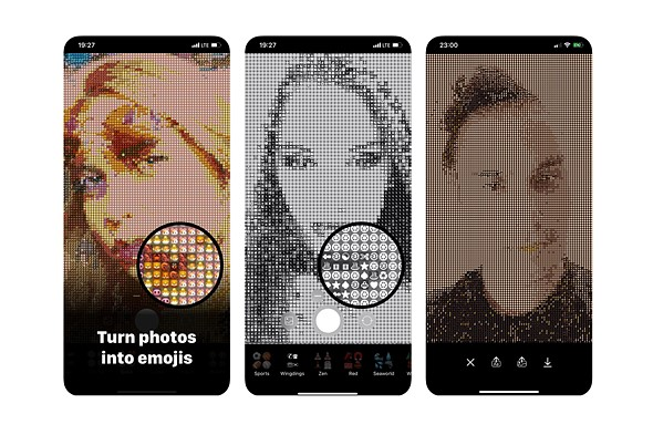 Emojivision uses computational photography to turn your photos into emojis: Digital Photography Review
