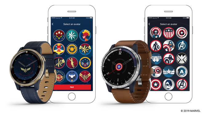 Garmin partnered with Marvel to make a GPS watch for adults, the design is not bad at all - Photo 1.
