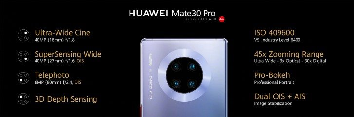 Huawei officially launches Mate 30 and Mate 30 Pro: Everything is available, except the Google app