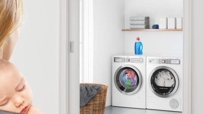 [IFA 2019]  Bosch launches washing machine, dryer, dishwasher running smoothly as silencer - Picture 1.
