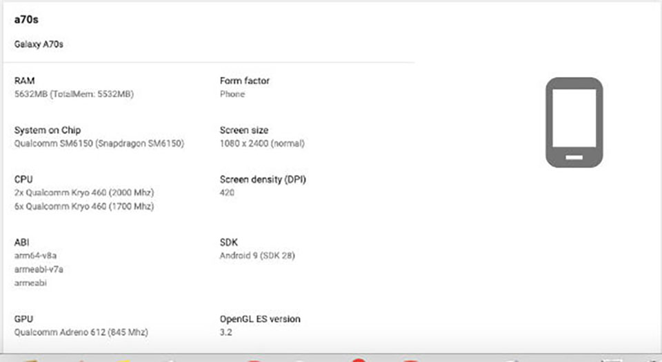 Sforum - Samsung-Galaxy-A70s-4 latest technology information page If this is the Galaxy A70s specifications, what do you think?