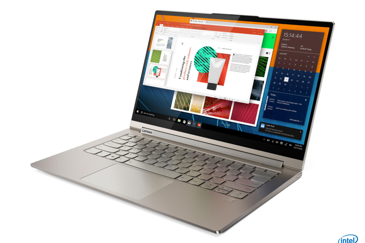 Lenovo's Yoga C740 and C940 laptops feature both Ice Lake and Comet Lake CPUs