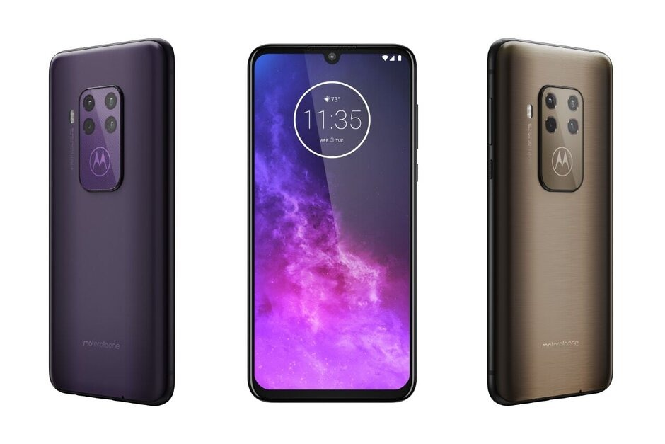 Sforum - Motorola-One-Zoom-2-1 latest technology information page Motorola One Zoom launched: 4 cameras, fingerprint sensor under the screen, priced at 10.5 million VND