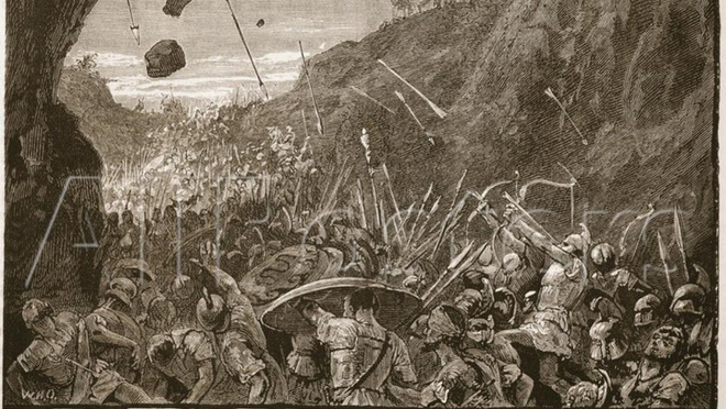 How did the phenomenon of super blood moon cause thousands of ancient Greek soldiers to battle? - Picture 1.