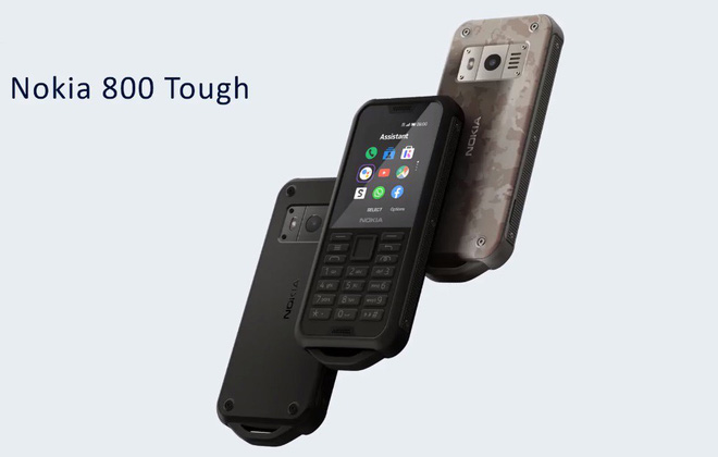 Nokia launched a durable brick, waterproof, 43-day battery, priced at 2.8 million - Photo 1.