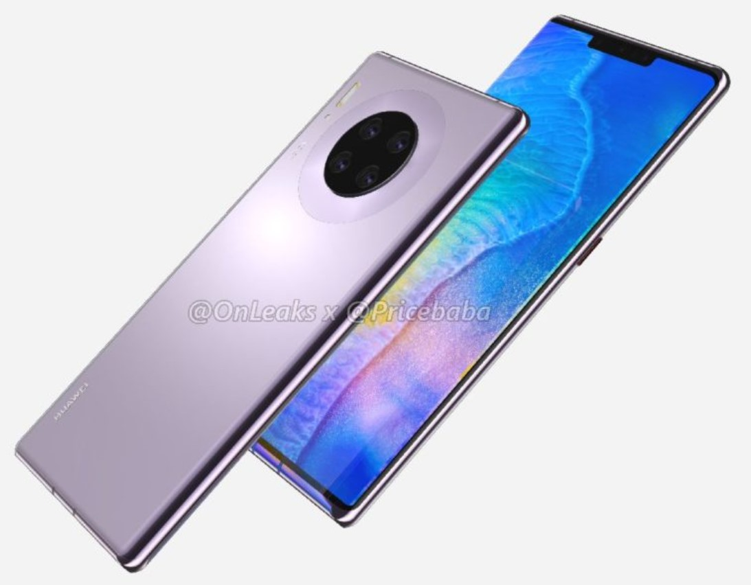Sforum - Latest technology information page anh-render-Mate-30-Pro-2-1 Official: Huawei Mate 30 series still runs Android but will not have Play Store or Google Apps