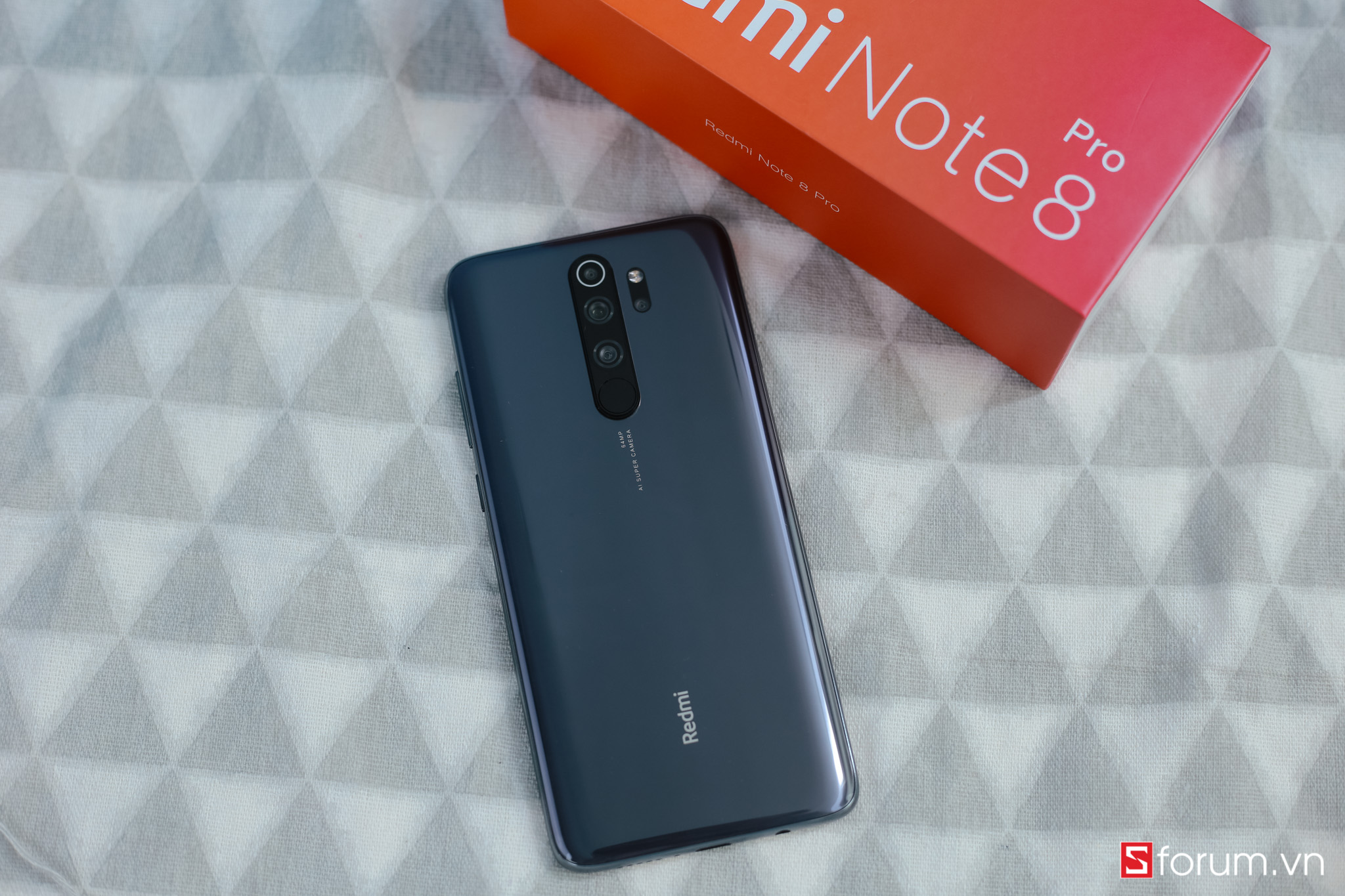 Sforum - Latest technology information page IMG_9822 On the hands of the first Redmi Note 8 Pro in Vietnam: New design, 64MP camera