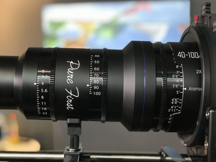 Pure First 40-100mm T3.5 2x Full Frame Anamorphic