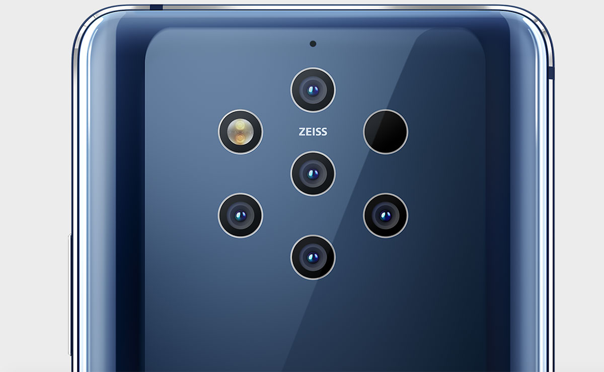 The Nokia 9 PureView penta-camera: How it works
