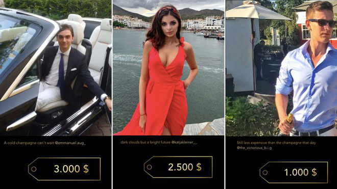The story behind the website that rich rich people have to pay a thousand dollars to post a picture on - Photo 1.