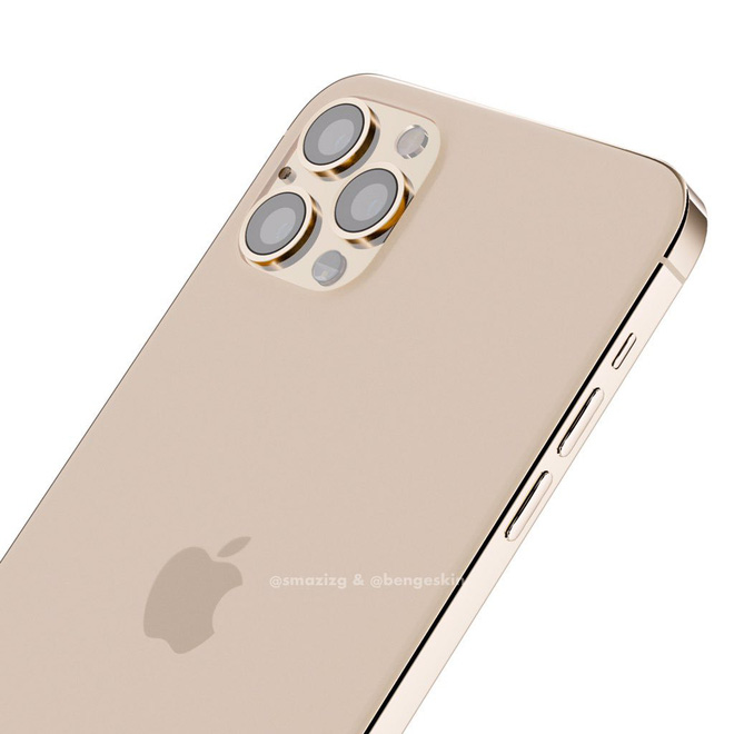 iPhone 2020 with the design of iPhone 4 looks like this here - Picture 1.