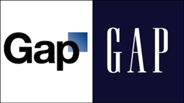 """The disaster of changing GAP logo: """"Burning"""" 100 million USD to spend in 7 days, the stock dropped by 13%, became a joke for the people - Photo 1."""