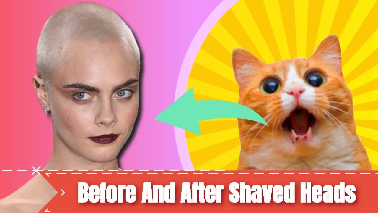 ✅ 30 Celebs Before And After They Shaved Their Heads