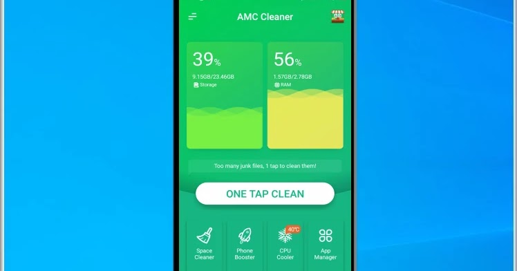 AMC Cleaner: Free up more memory and clean your mobile