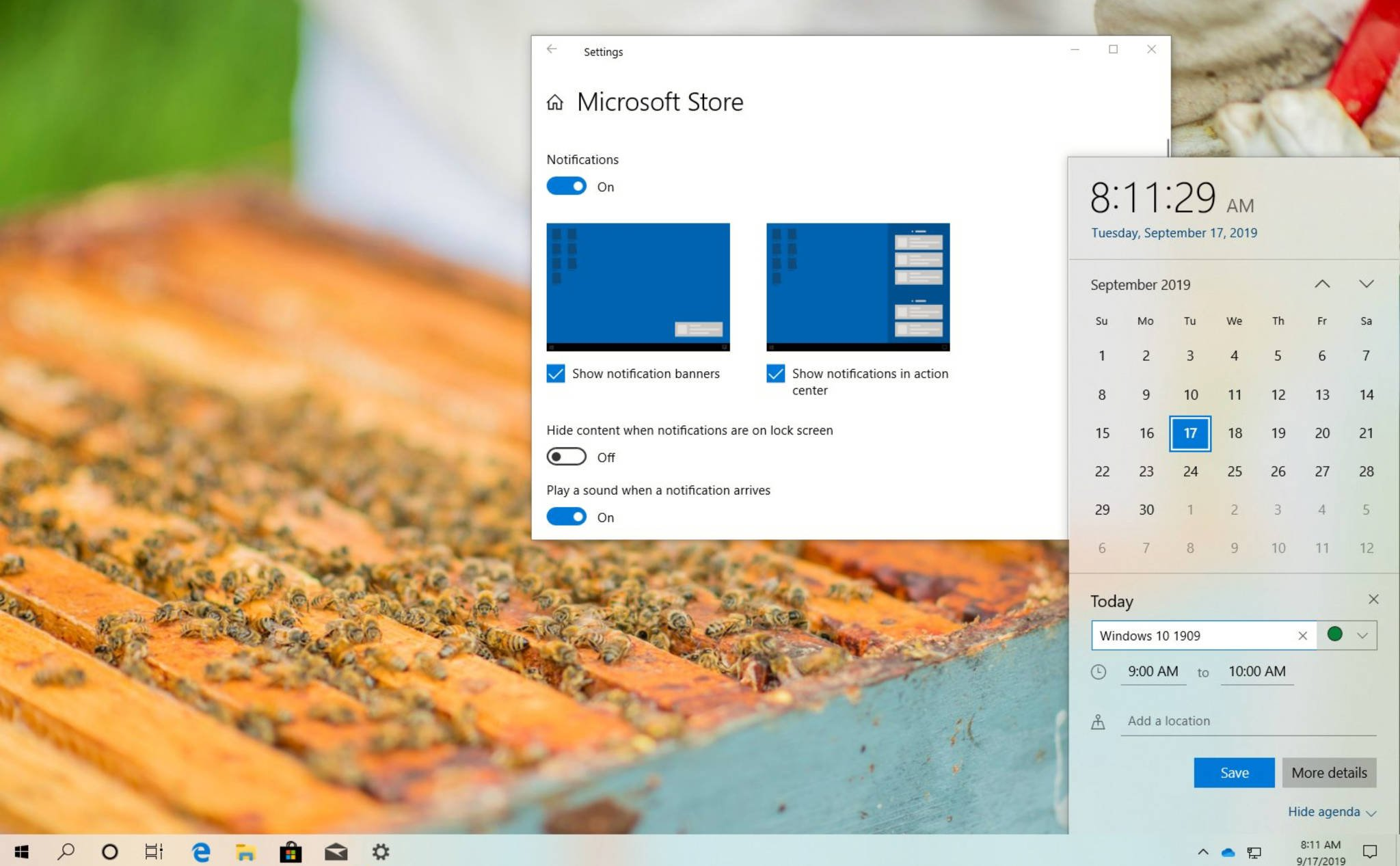 Already able to update Windows 10 1909 final version via Release Preview, invite you