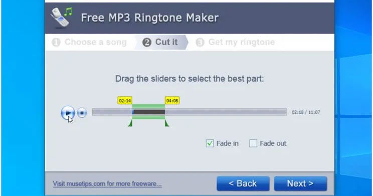 MP3 Ringtone Maker: The simplest way to convert MP3 to Ringtone